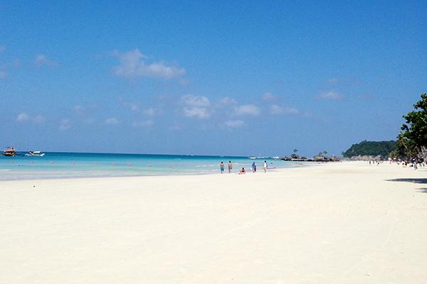 フィリピン,ボラカイ島,ビーチ