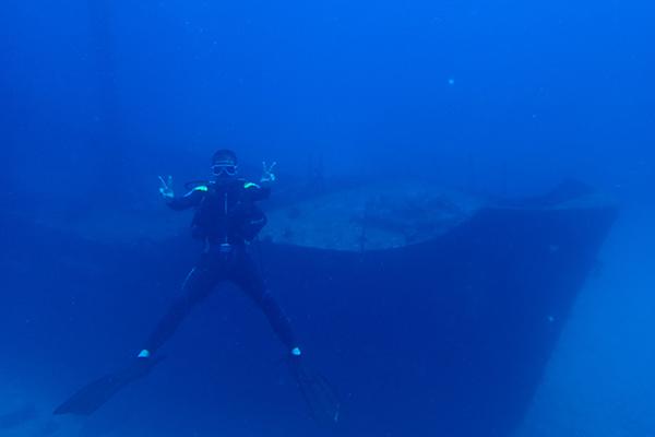 ダイビングスポット,ボラカイ,カミア難破船