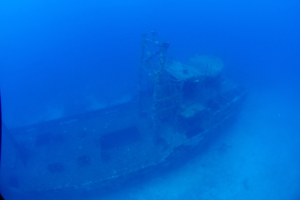 Camia Ship Wreck,Diving spot, Boracay