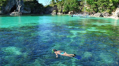 Island hopping,Boracay, Philippines