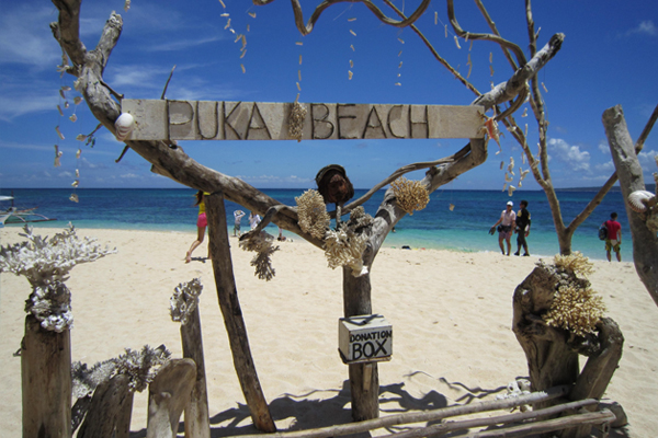 PUKA BEACH,Boracay,Philippines,Sightseeing area